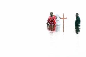 Baptism at Dean's Bay